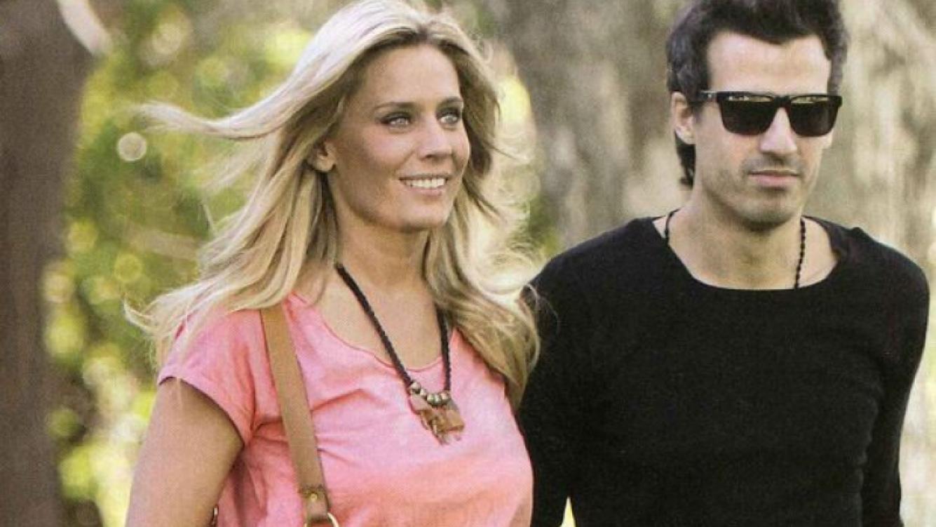 Rocío Marengo y su novio Juan Ignacio. (Foto: revista Pronto)