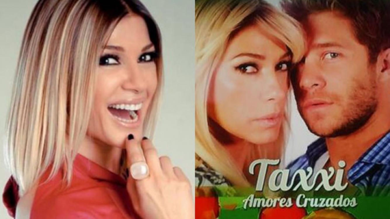 Catherine Fulop y Nicolás Riera protagonizan una historia de amor jugada en Taxxi (Fotos: Web).