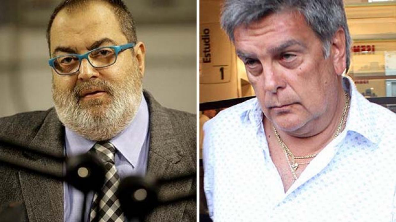Jorge Rial y Luis Ventura se enfrentaron en la mediación previa al juicio que plantea el conductor de PPT. (Fotos: Web)