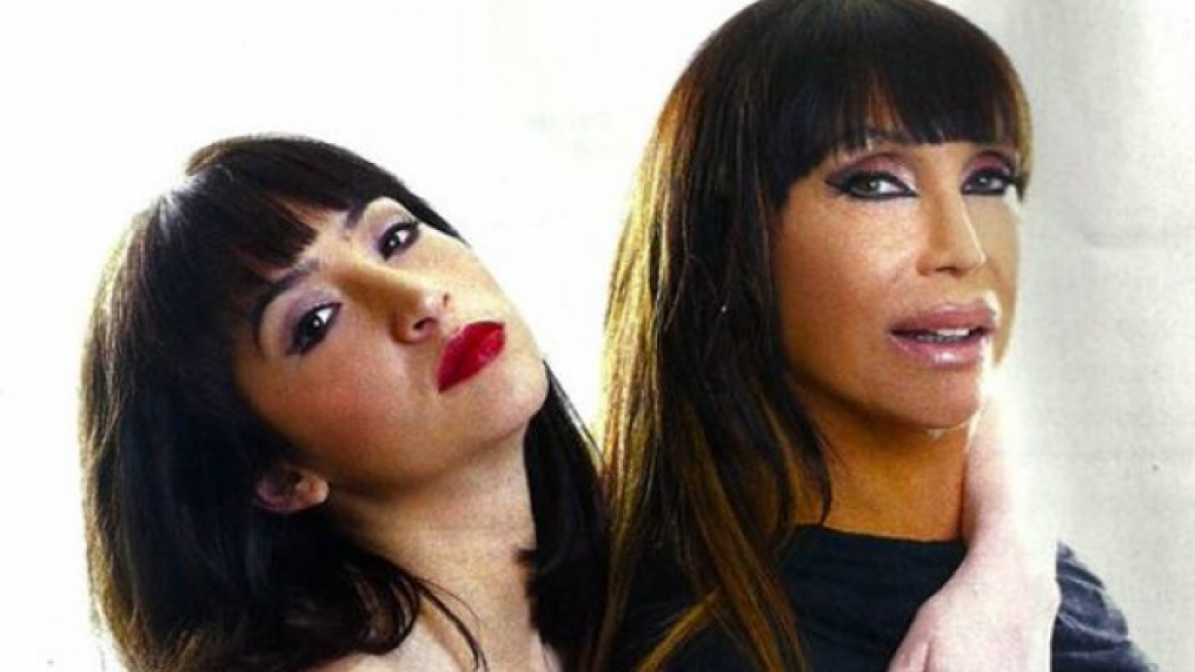 Sofía Gala y Moria Casán, el escándalo está servido. (Foto: archivo Web)