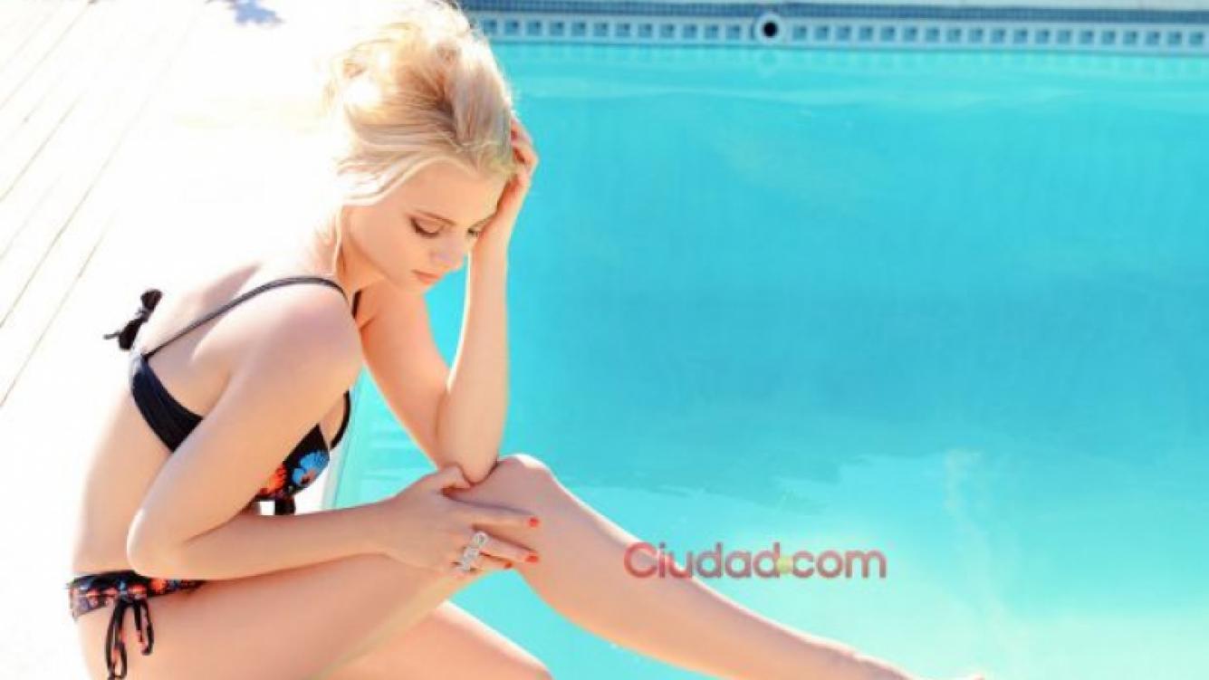 Jimena Campisi volvió a posar en bikini después de dar a luz a Milo. (Foto: Maxi Didari)