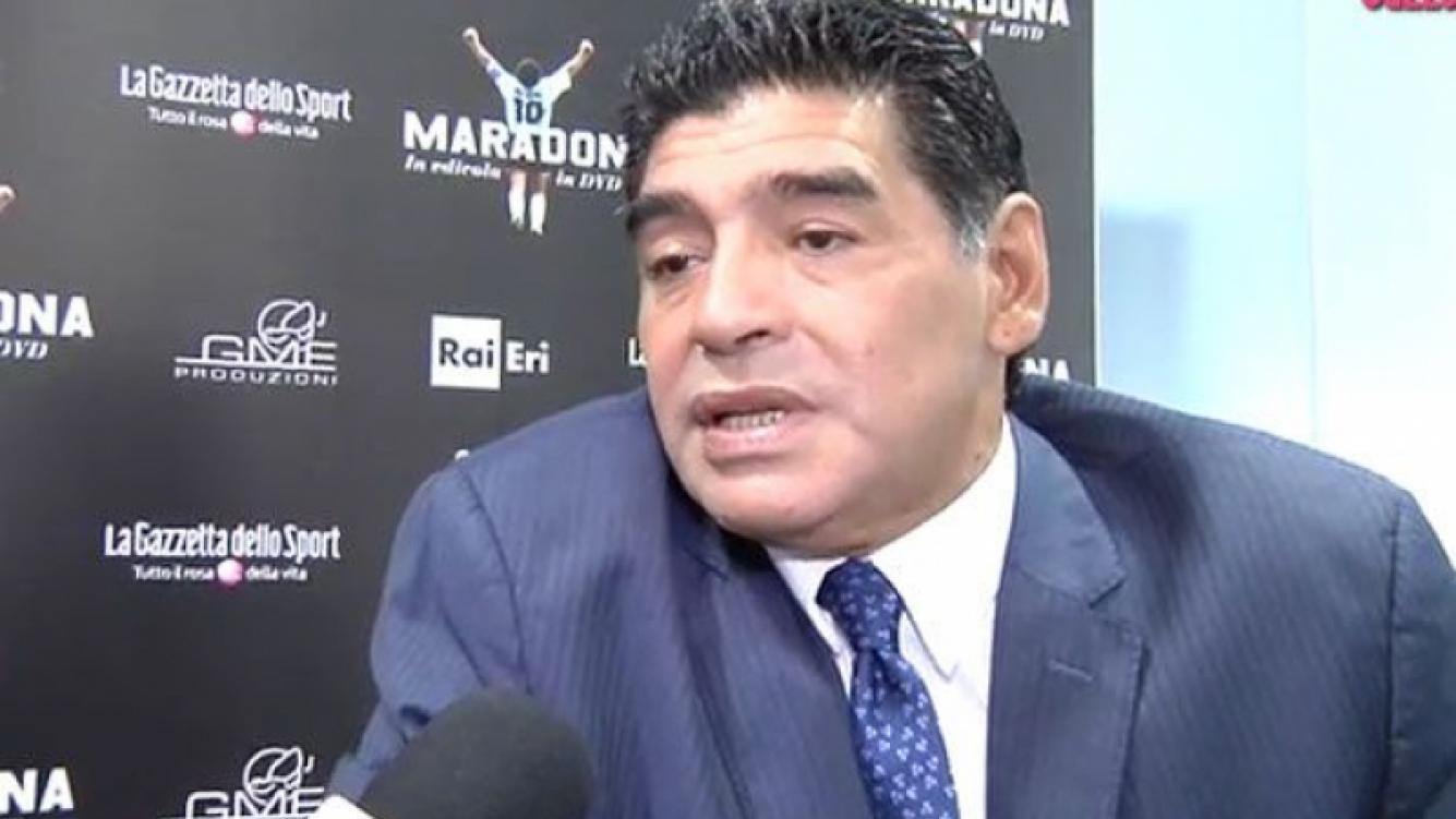 Diego Maradona hbaló de las drogas en Italia. (Foto: Gazzetta dello Sport)