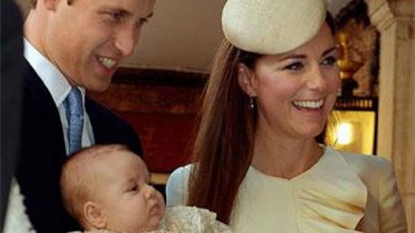 William y Kate Middleton bautizaron al príncipe George. (Foto: @ClarenceHouse)