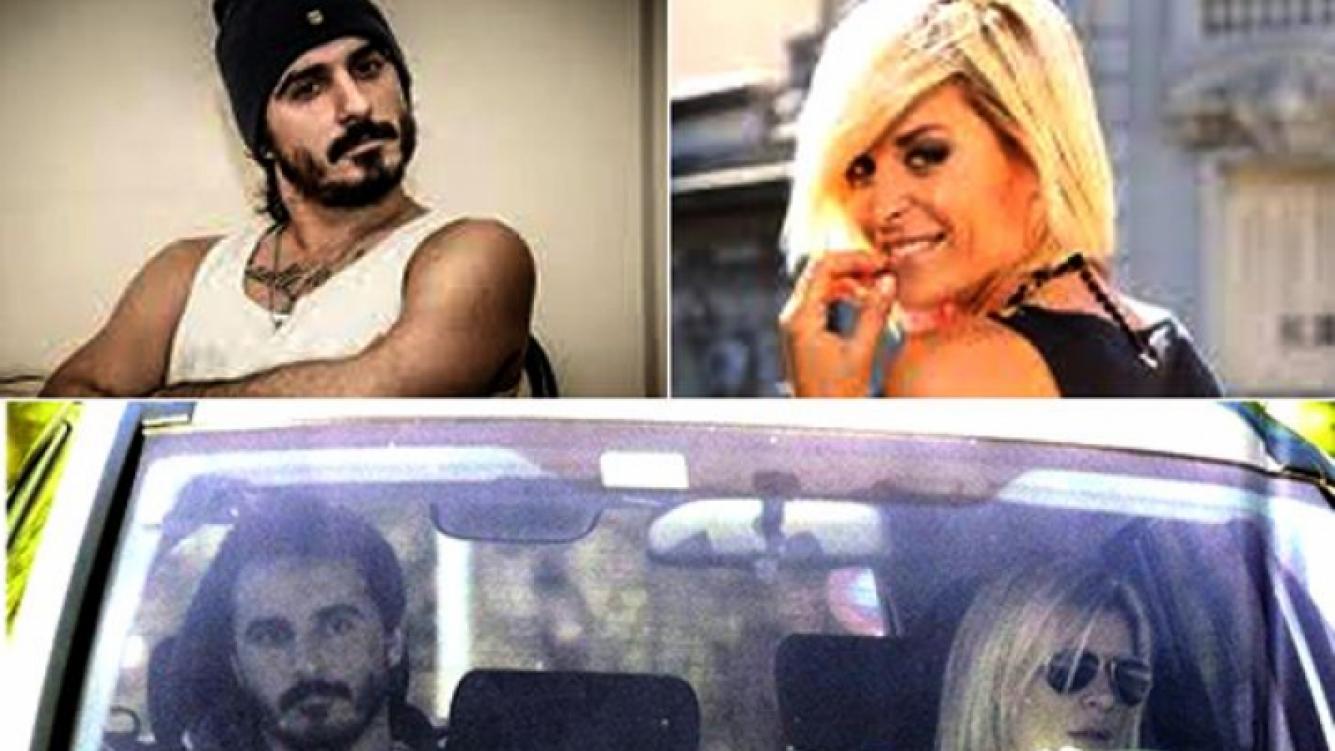 Santi Aysine y Eugenia Tobal, juntos desde julio. (Fotos: Web y Paparazzi)