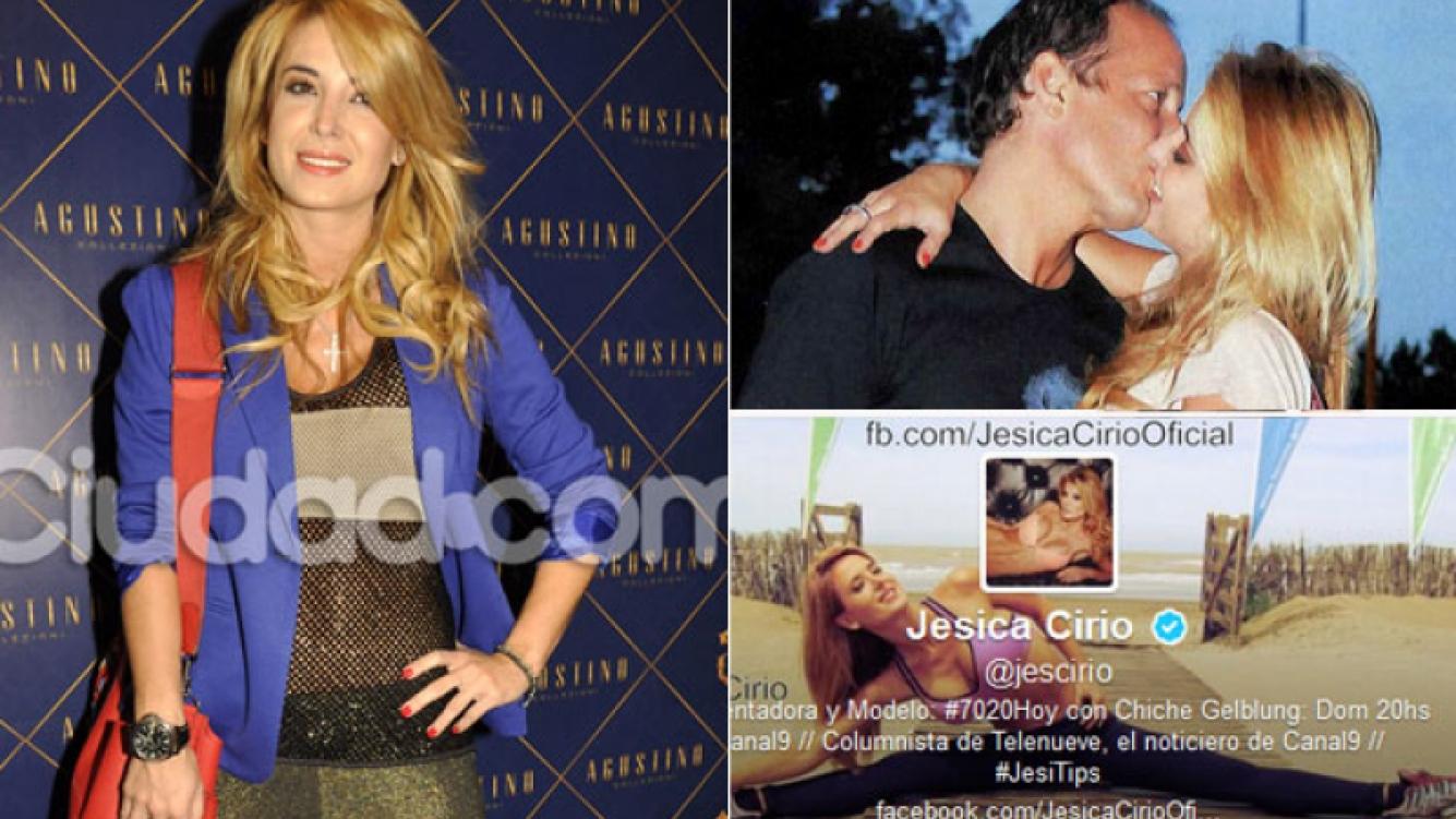 Los tweets de consuelo de Jésica Cirio a Martín Insaurralde (Fotos: Ciudad.com, Twitter y Web).
