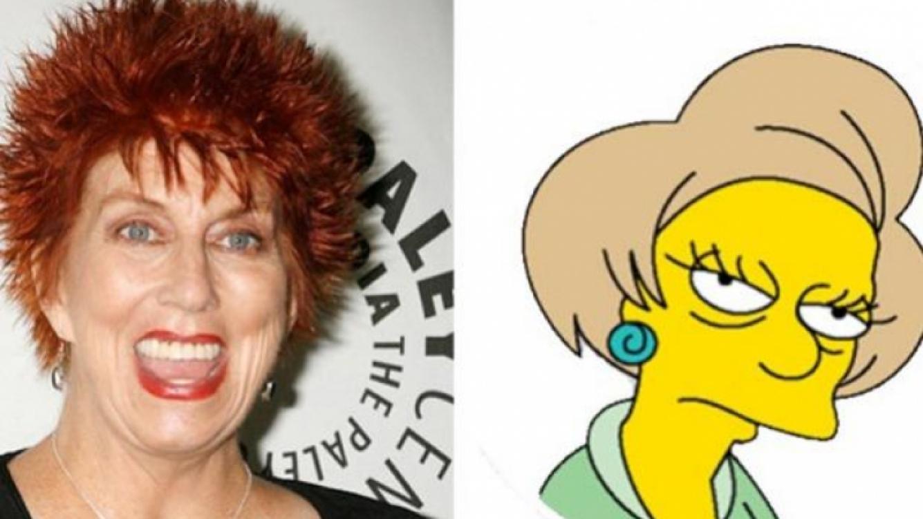 Marcia Wallace, la actriz que le daba la voz (original) a la querida Edna Krabappel. (Fotos: Web)