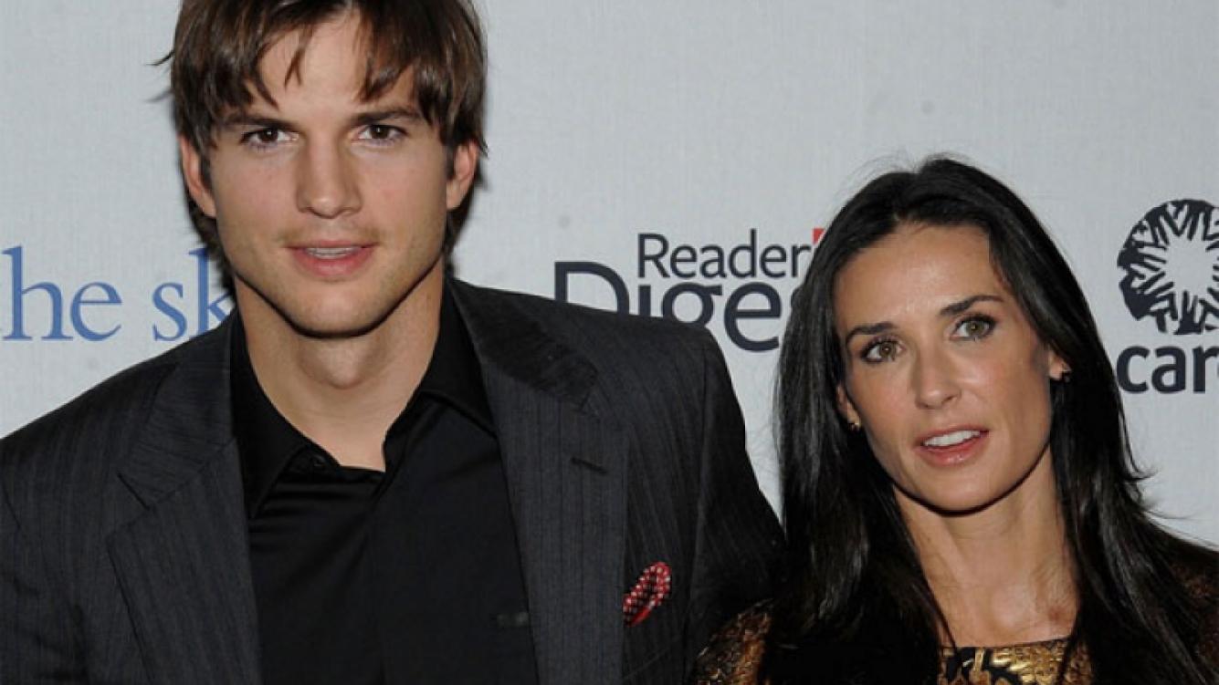 Demi Moore y Ashton Kutcher firmaron el acuerdo de divorcio. (Foto: web)