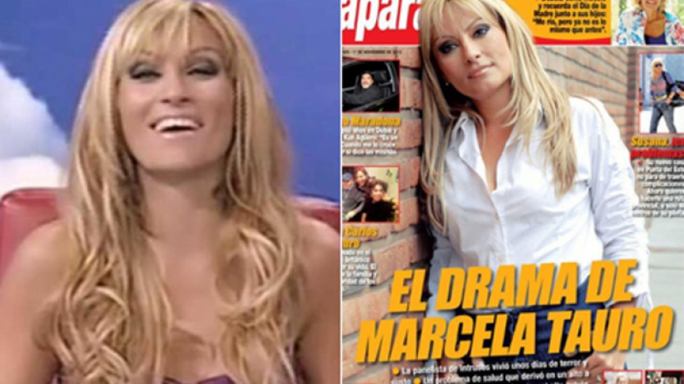 Marcela Tauro bromeó sobre la tapa de Paparazzi. (Fotos: Web y Twitter @Paparazzirevis)