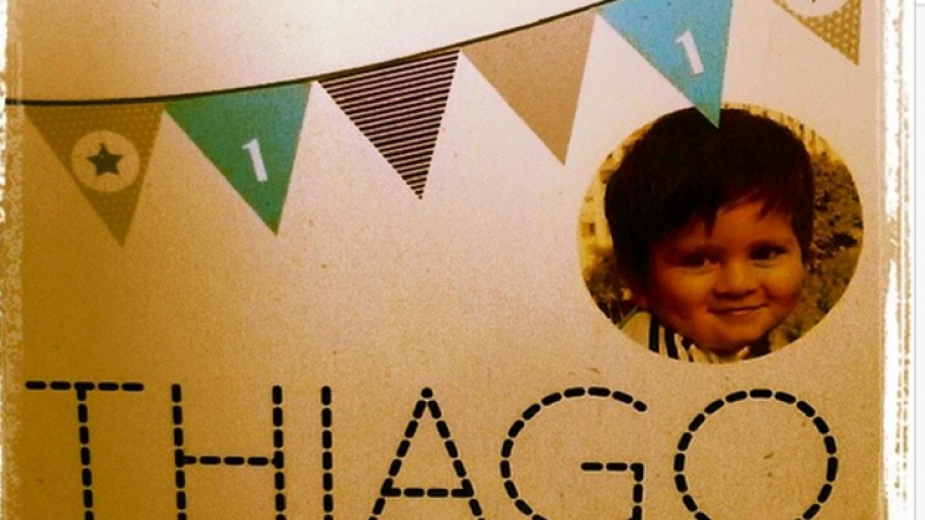 El primer cumpleaños de Thiago Messi. (Foto: Instagram.com/LeoMessi)