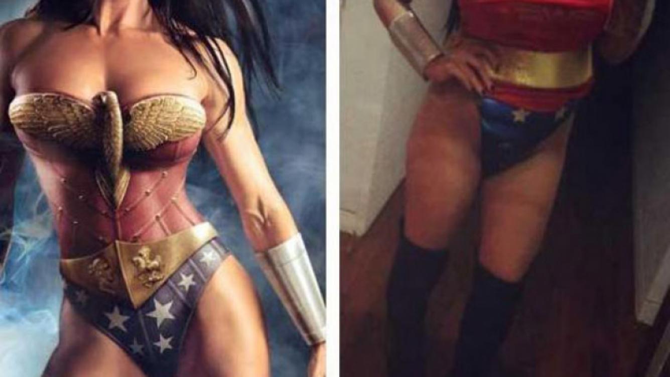 Charlotte Caniggia se lookeó como la Mujer Maravilla (Foto: Facebook).
