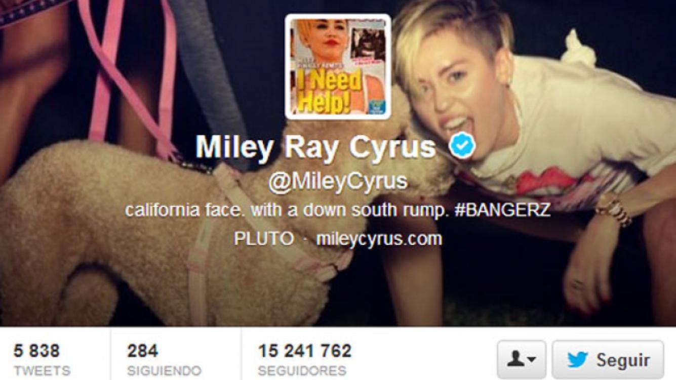 Miley Cyrus se burla de la portada de la revista In Touch. (Foto: @MileyCyrus)