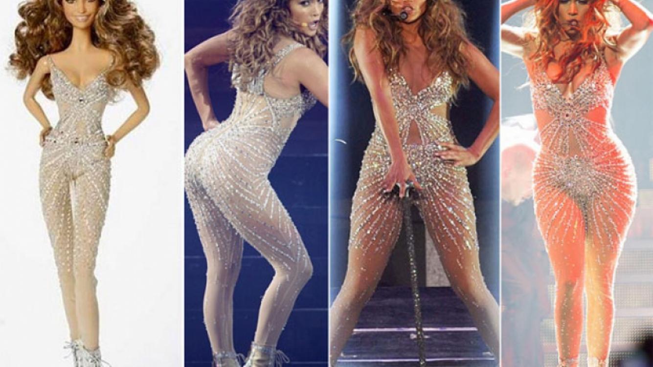 Jennifer López ya tiene su Barbie… pero sin sus distintivas curvas. (Foto web/ @Barbie)