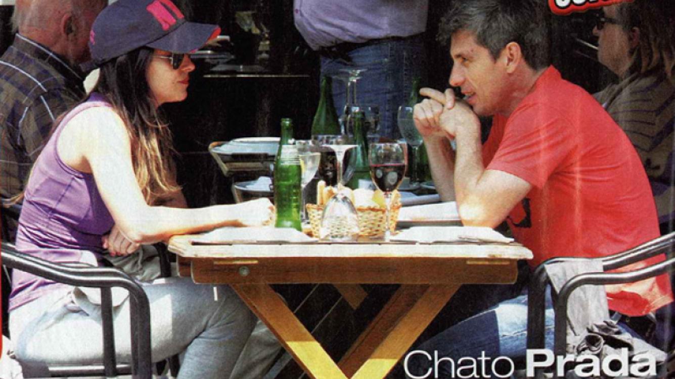 El Chato Prada y Lourdes Sánchez. (Foto: revista Paparazzi)