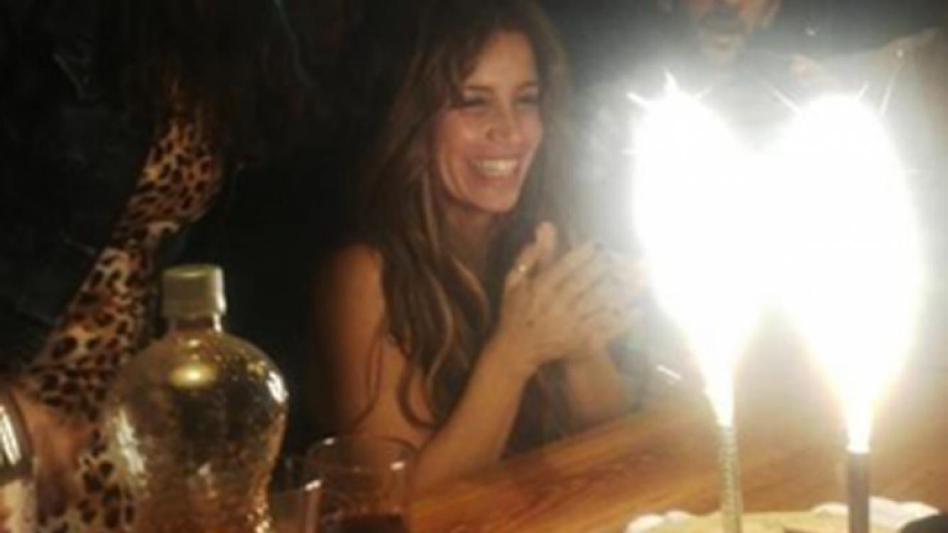 Florencia Peña festejó su cumpleaños. (Foto: Twitter)