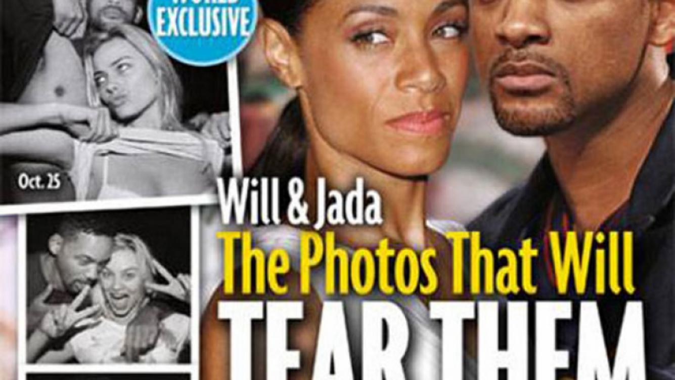 Will Smith: Las fotos que podrían provocar un divorcio millonario. (Foto: Revista Star)