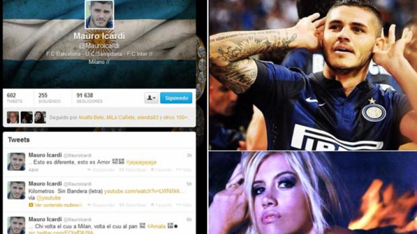 Los tweets de Mauro Icardi en medio de los rumores. (Fotos: Web y @mauroicardi)