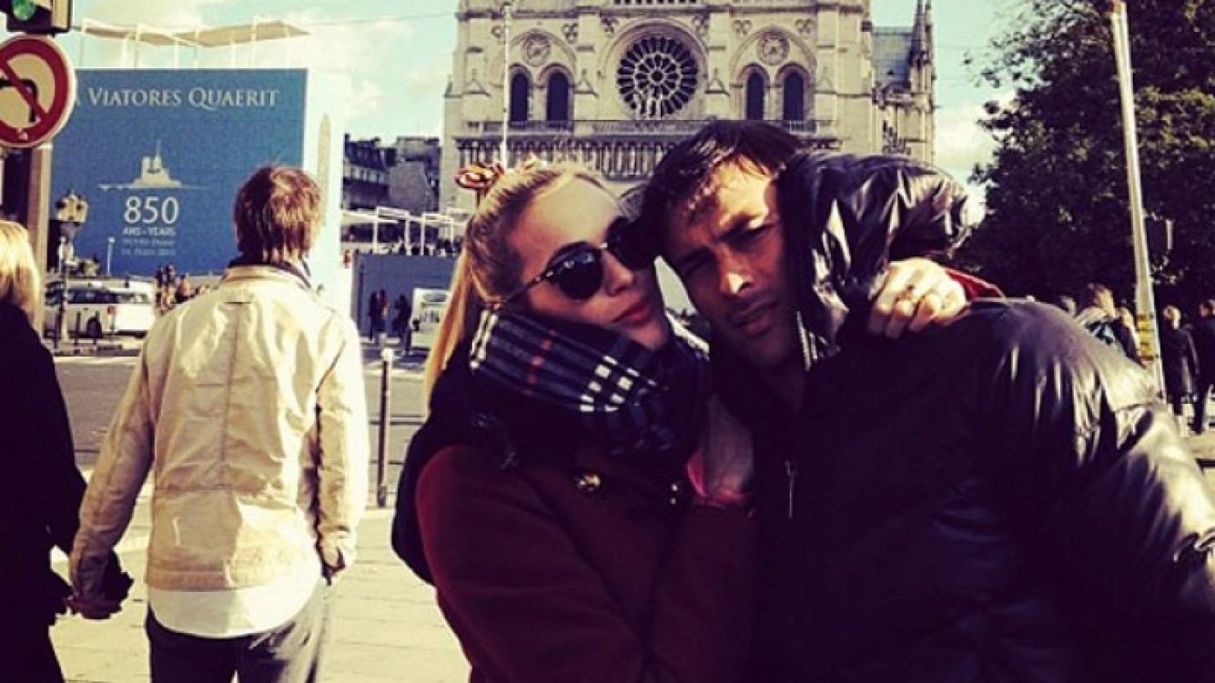 Chechu Bonelli y Darío Cvitanich sellaron su amor en París. (Foto: Instagram)