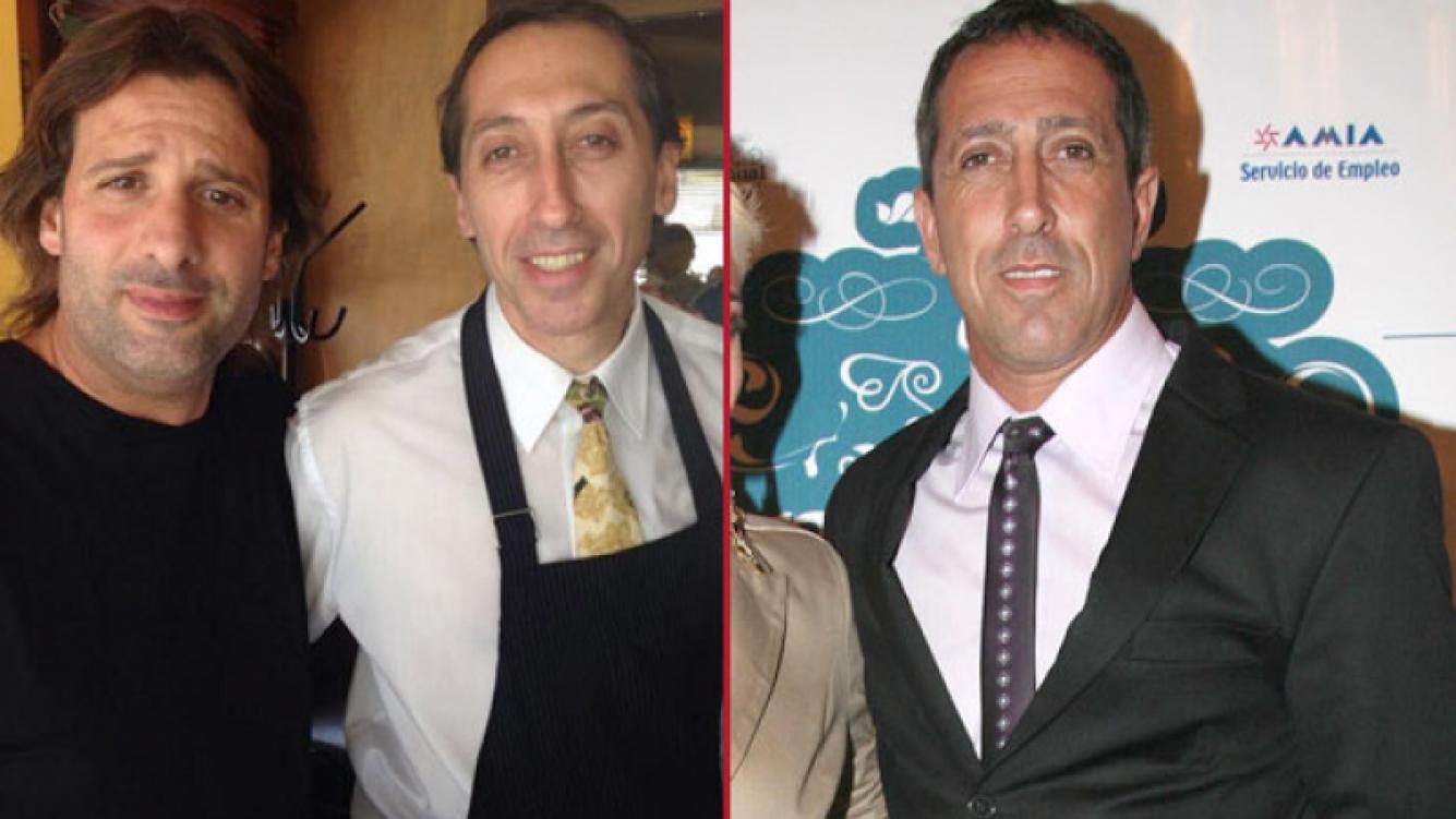 José María Listorti y el doble exacto del Turco Naim. (Fotos: Twitter y Web)