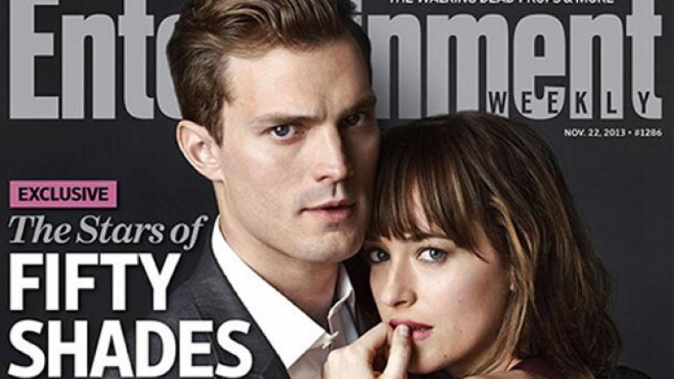 50 sombras de Grey: Primera imagen de Jamie Dornan y Dakota Johnson. (Foto: Entertainment Weekly)