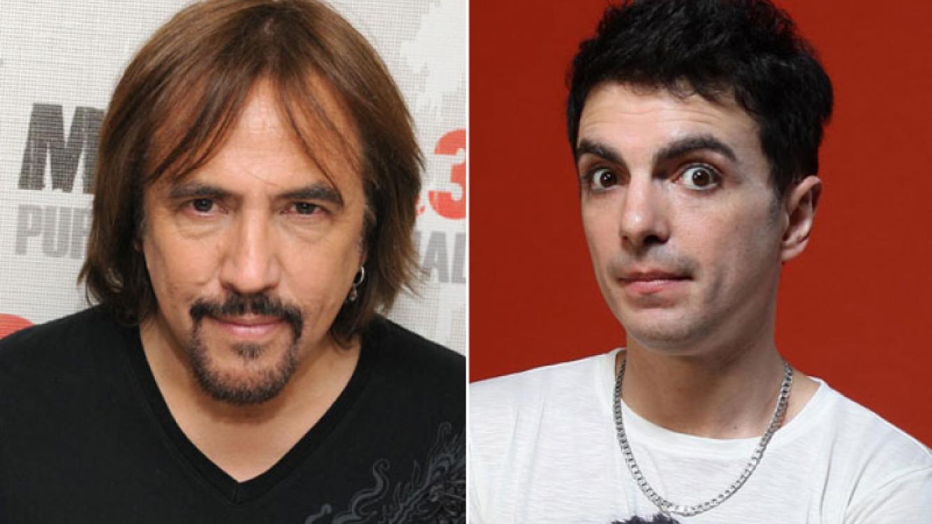 Alejandro Lerner y Ale Sergi, robados en Salta. (Fotos: Web)