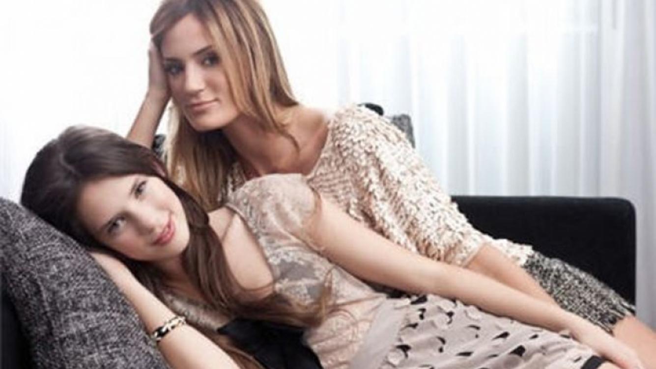 Paula y Delfina Chaves, la dupla de hermanas favorita de la farándula. (Foto: Web)