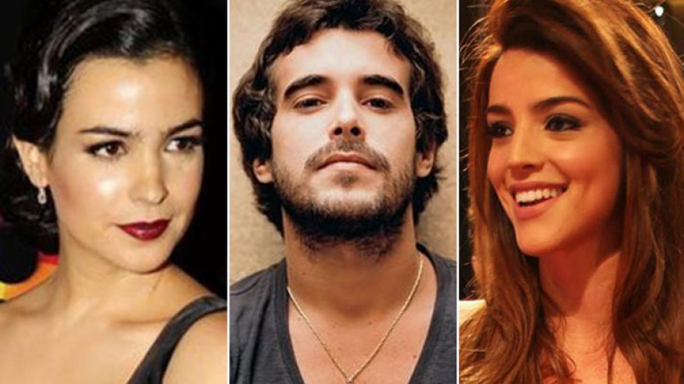 Agustina Cherri, Nicolás Cabré y Calu Rivero. (Fotos: Web)