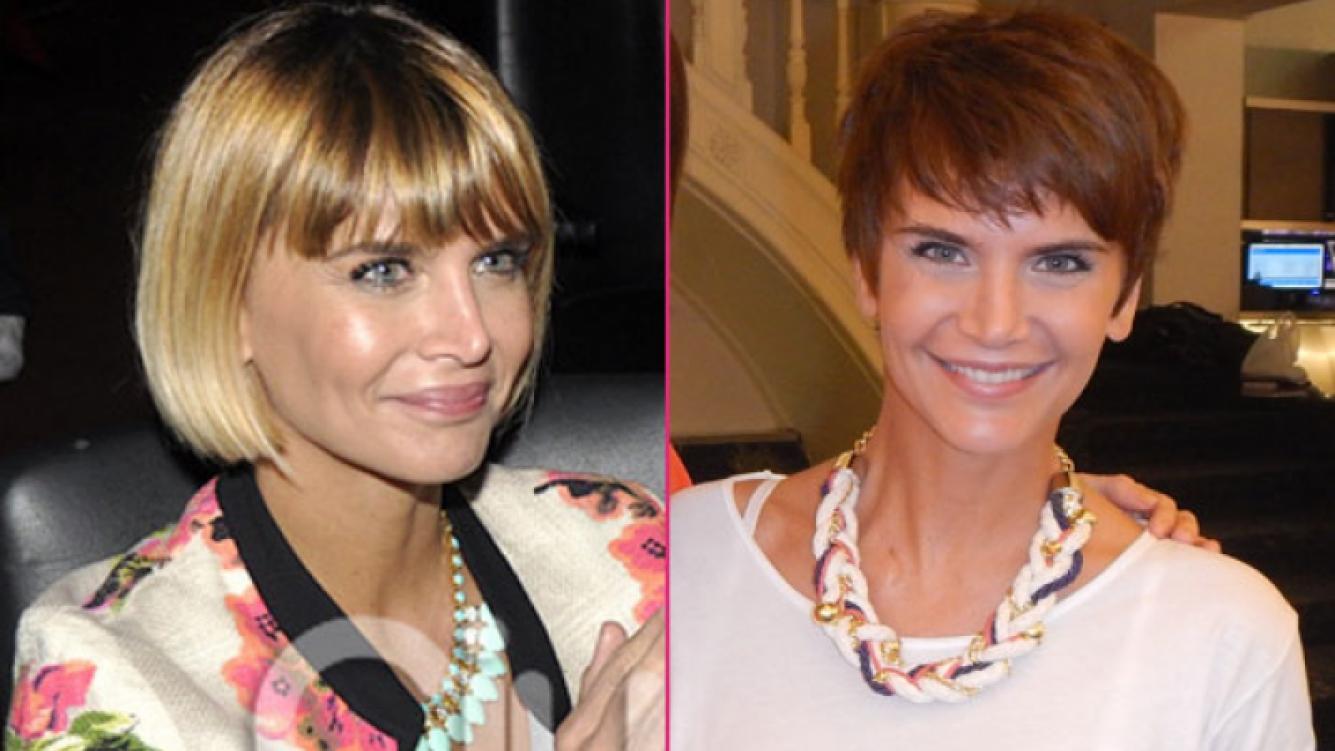 Amalia Granata y un radical cambio de look (Fotos: Ciudad.com y gentileza Bebe Sanders)