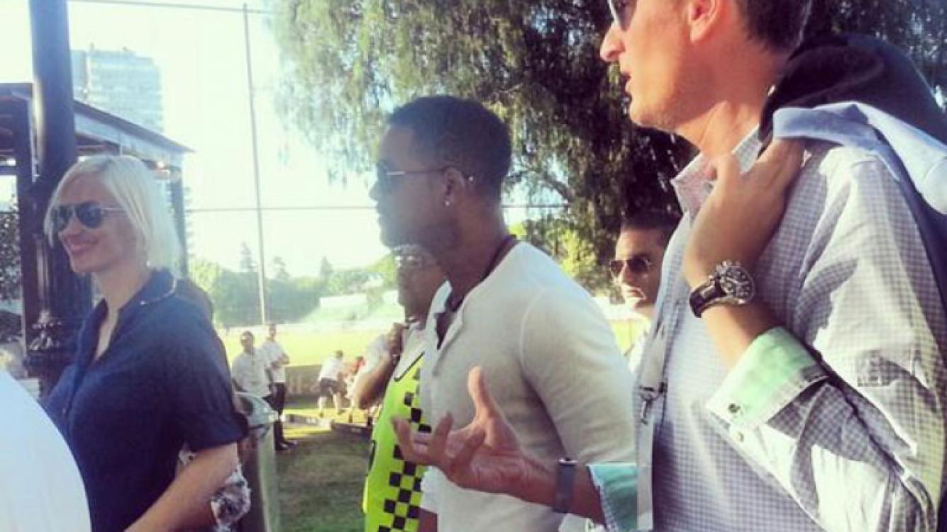 Will Smith en el Abierto Argentino de Polo (Foto: Twitter)