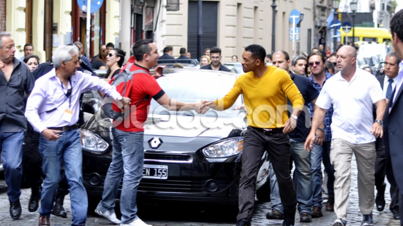 Will Smith, en Argentina. (Foto: Jennifer Rubio-Ciudad.com)