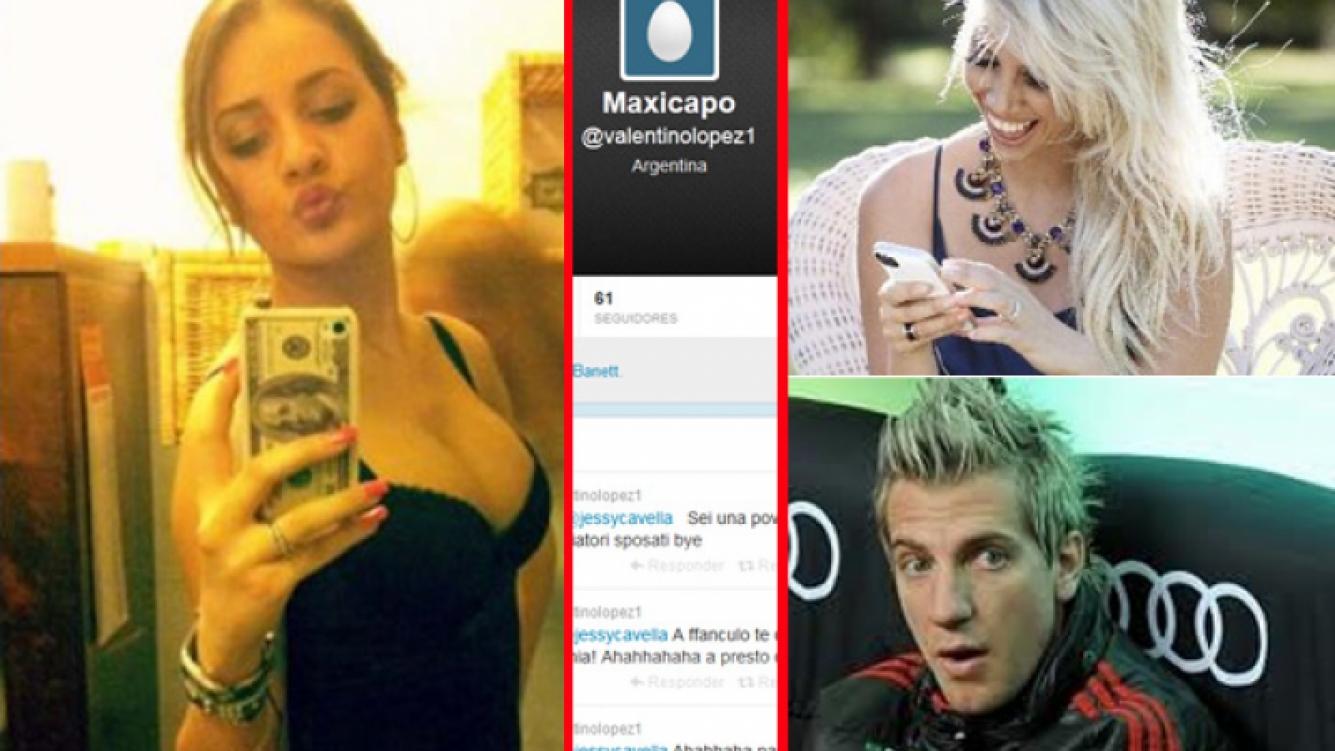 La misteriosa cuenta de Twitter que atacaba a Jessica Vella. (Fotos: Web y Twitter)