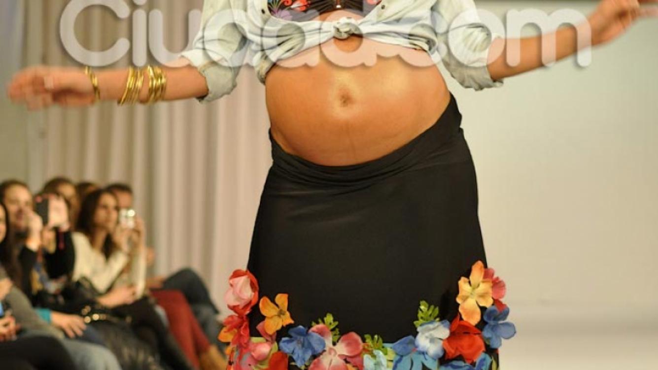 Paula Chaves había engordado 32 kilos durante su embarazo. (Foto: Ciudad.com)