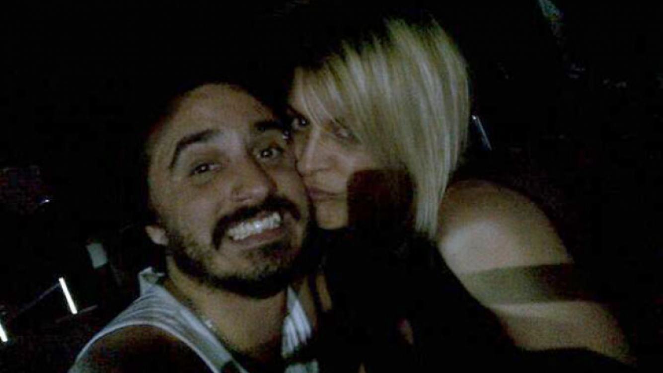Eugenia Tobal y Santiago Aysine, enamorados (Foto: gentileza Charo Delgado)