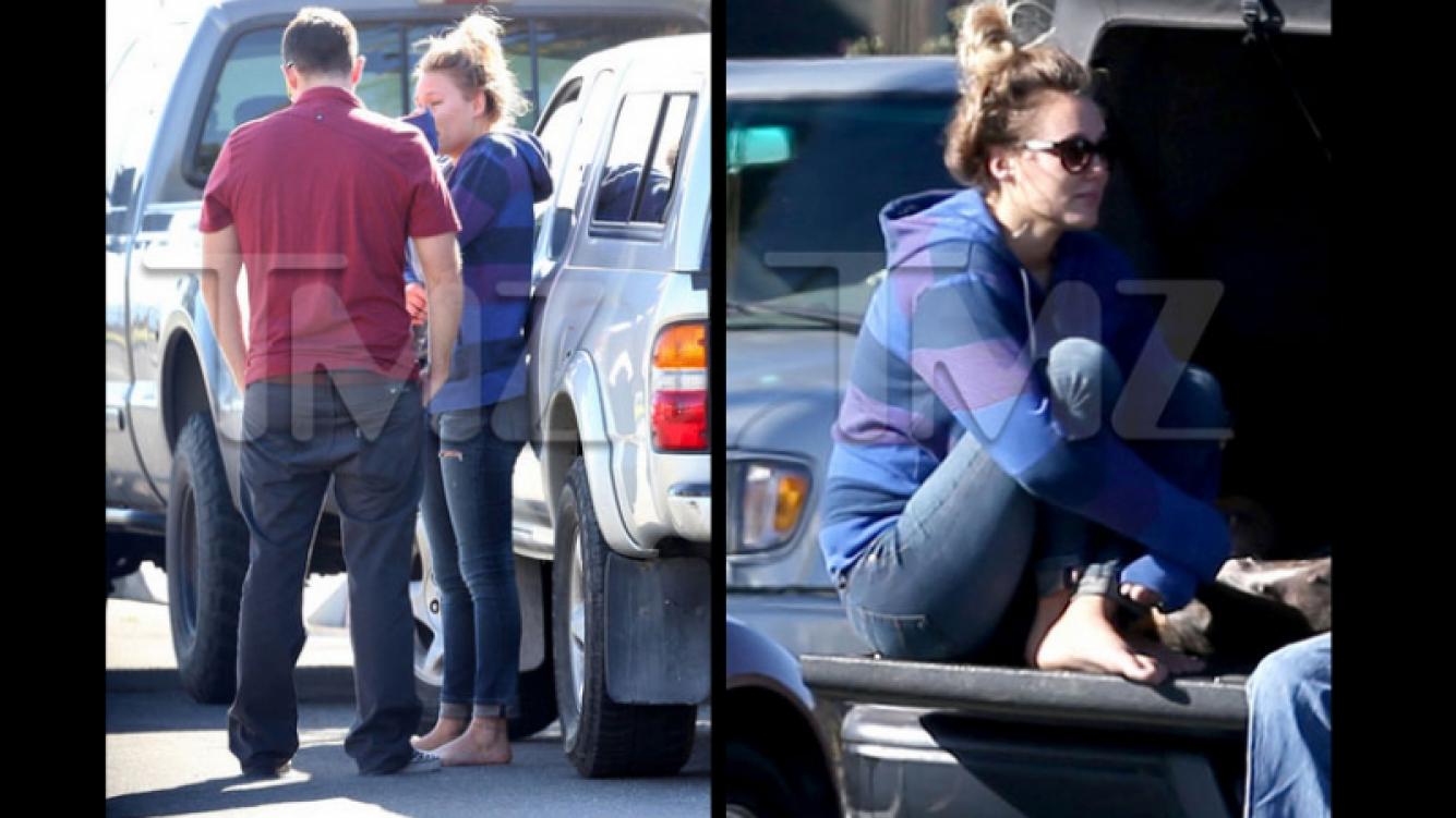 La muerte de Paul Walker: las primeras fotos de la novia del actor tras el accidente. (Foto: TMZ.com)