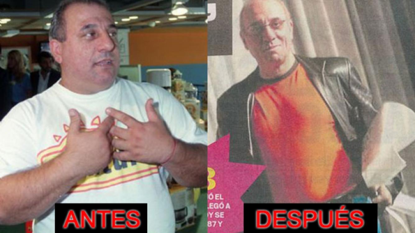 Toti Ciliberto y un increíble cambio físico (Fotos: Web y Diario MUY).