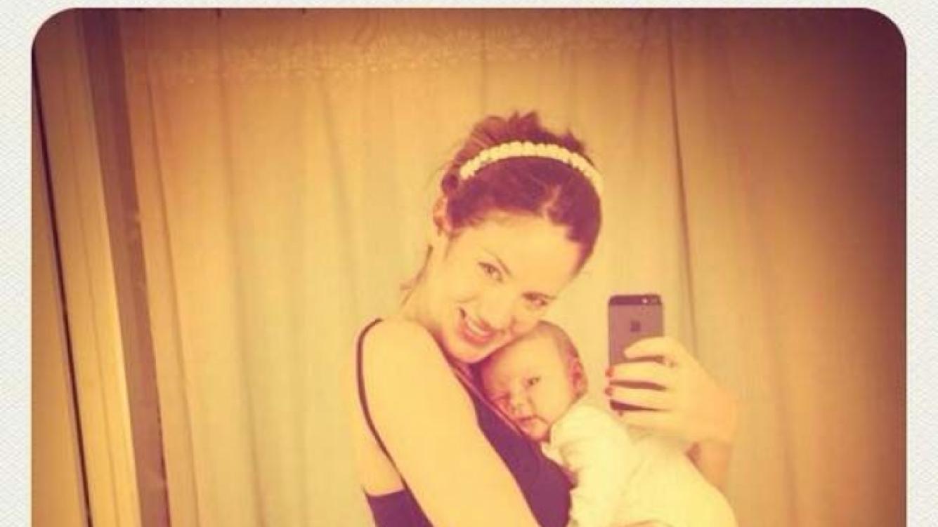 Paula Chaves es la gran mamá primeriza del 2013, según los usuarios de Ciudad.com. (Foto: Twitter)