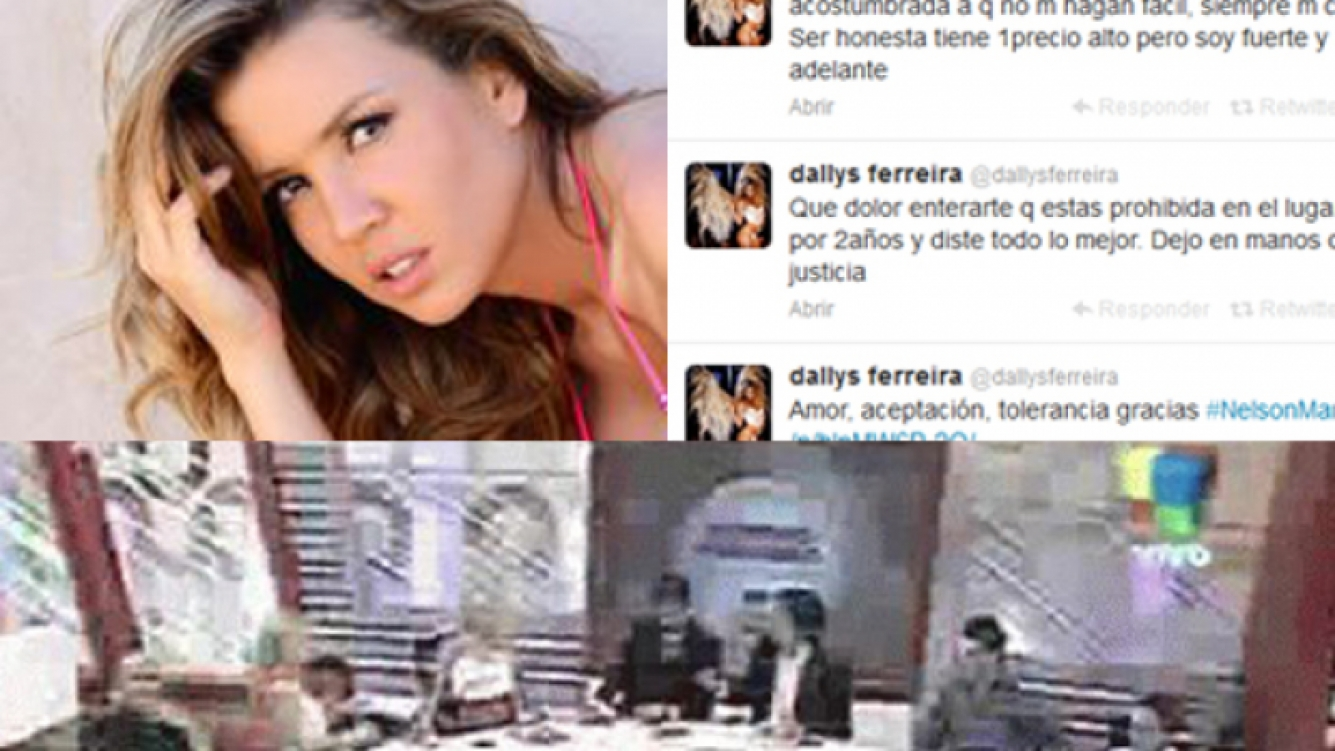 Dallys Ferreira expresó su furia en Twitter y luego habló con Ciudad.com. (Fotos: Ciudad.com, Twitter y Web)