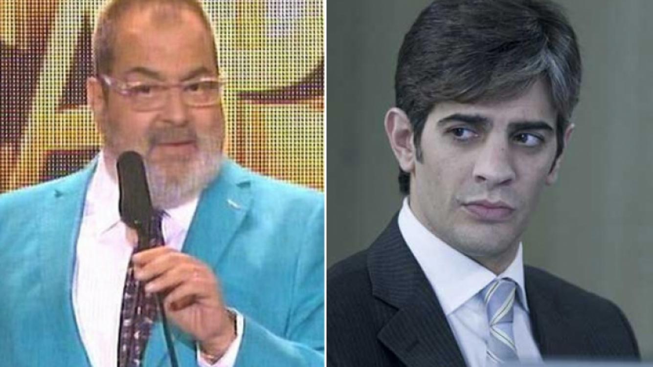 Jorge Lanata y Pablo Echarri, la grieta de la grieta. (Fotos: captura El Trece y archivo Telefe)