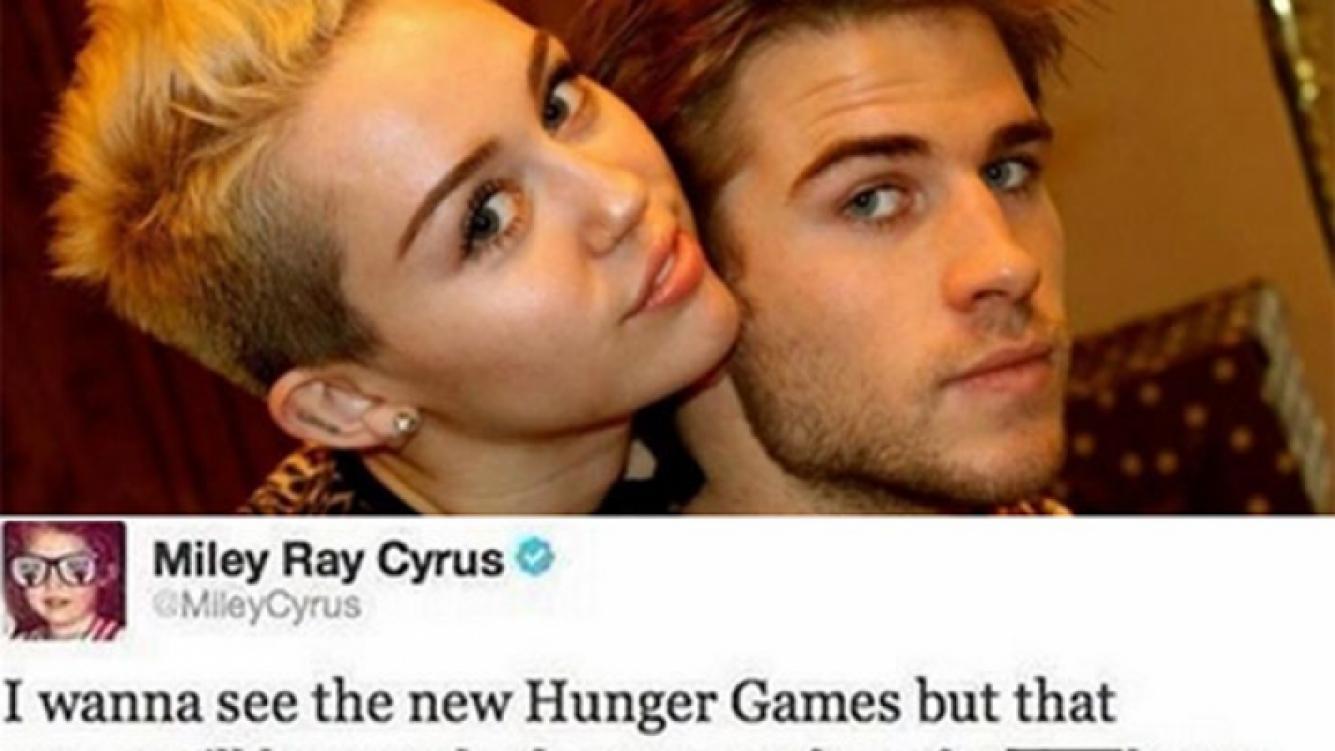 Miley Cyrus escribió un polémico tweet contra su ex y después lo borró. (Foto: web/Twitter)