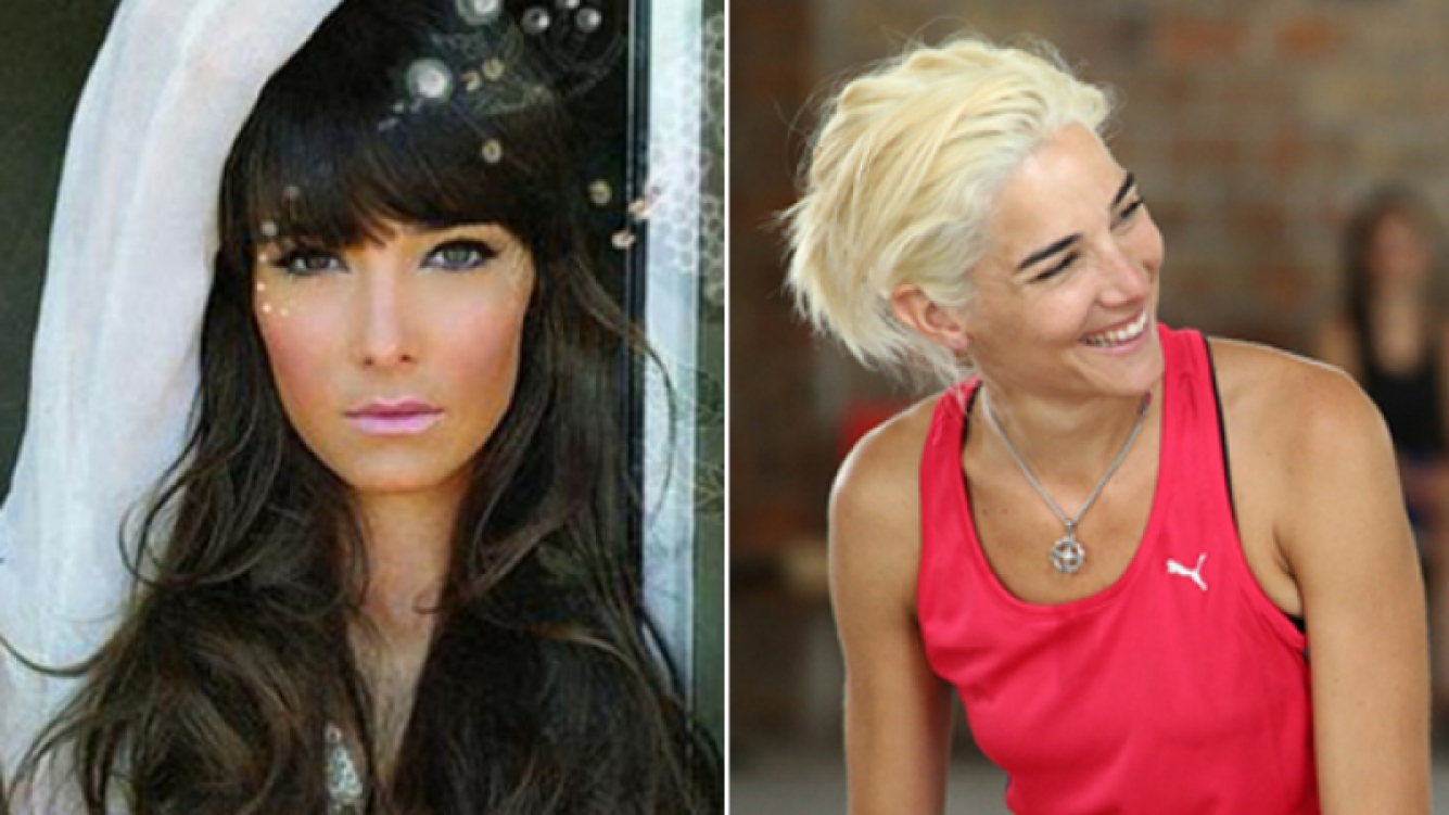 Juana Viale cambió su look. (Fotos: Web y Pol-Ka)