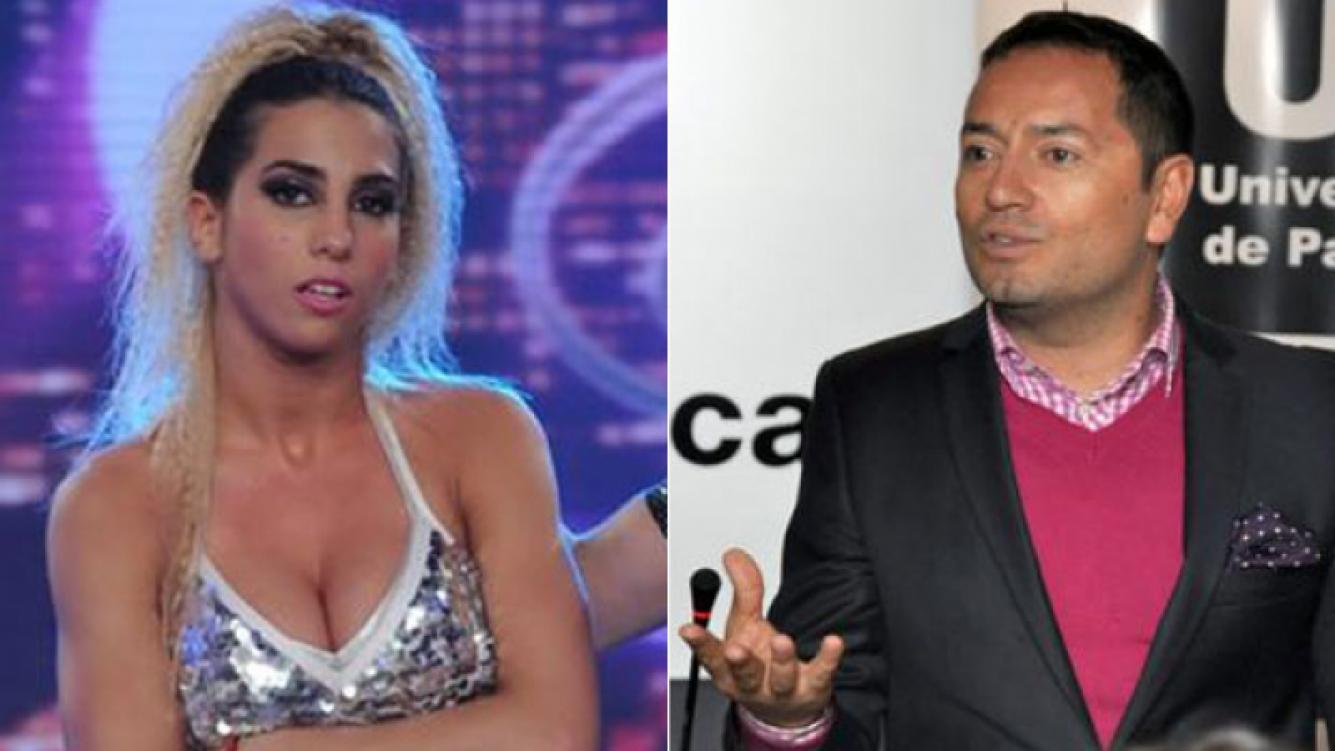 Cinthia Fernández y Fabián Medina Flores (Fotos: Web)