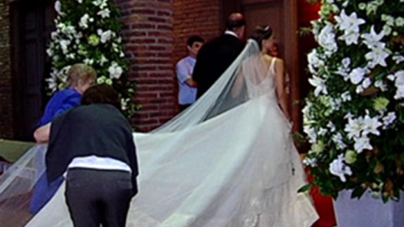 Diego Forlán se casó por Iglesia con Paz Cardoso. (Foto: @mirta_rabino)