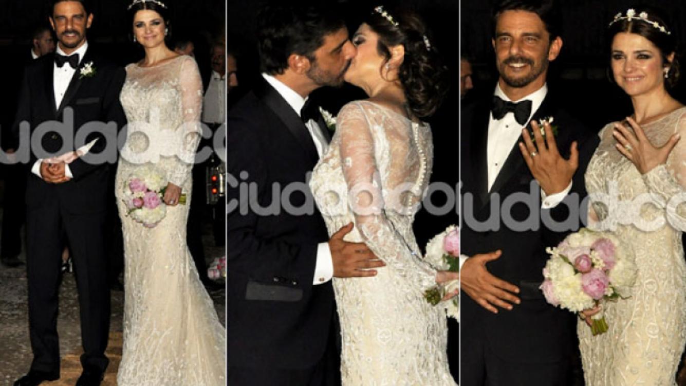 La lujosa boda campestre de Araceli González y Fabián Mazzei (Fotos: Jennifer Rubio - Ciudad.com)