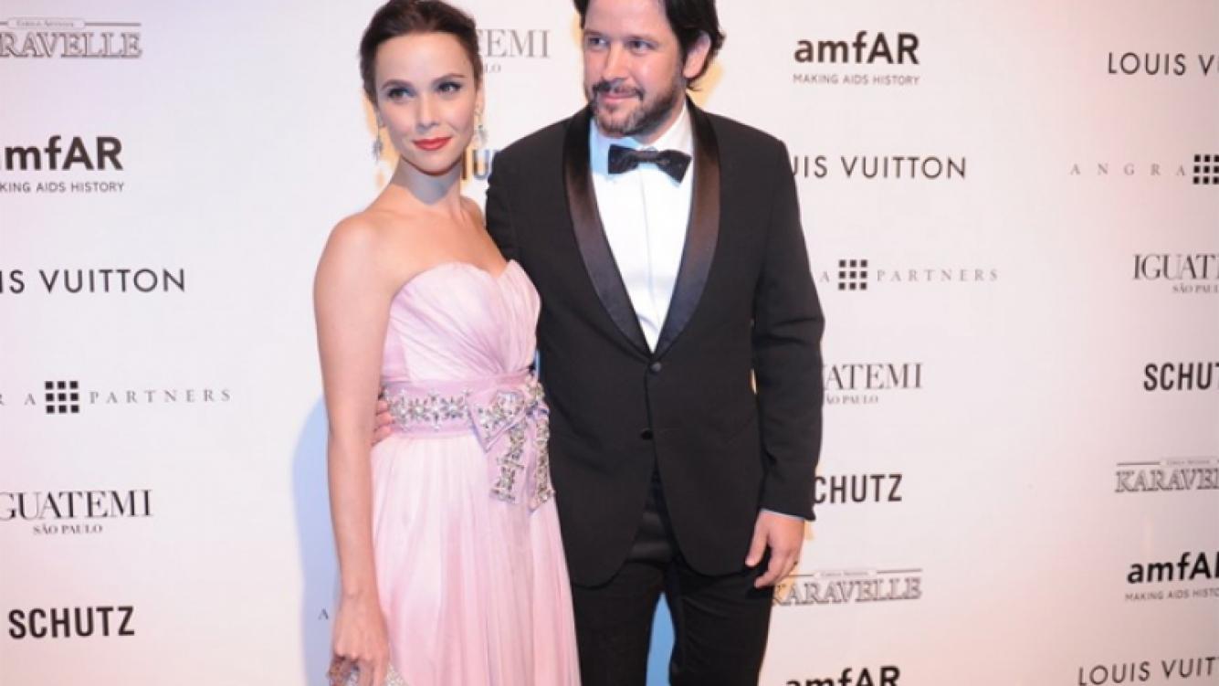 Murilo Benicio y Débora Falabella, juntos. (Foto: Web)