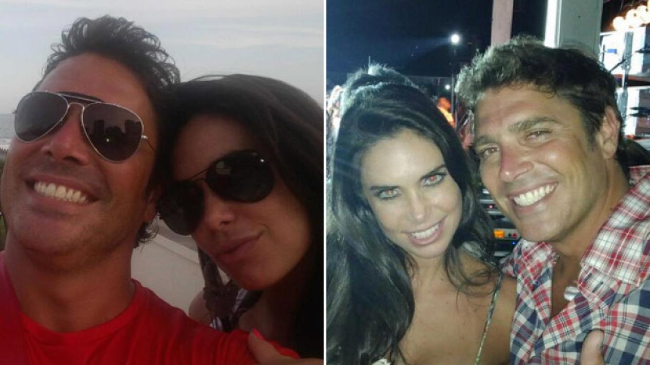 Matías Alé y Sabrina Ravelli, enamorados. (Foto: Twitter)