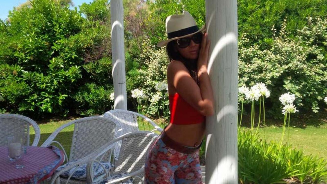 Karina Jelinek, una diosa suelta en Punta del Este. (Foto: @Karijelinek)