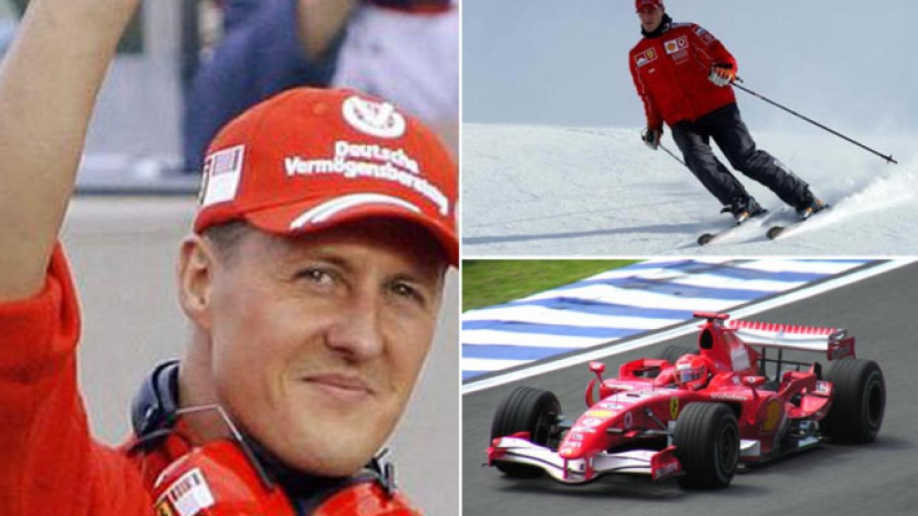 Michael Schumacher sufrió un grave accidente de esquí en Francia (Fotos: Web)