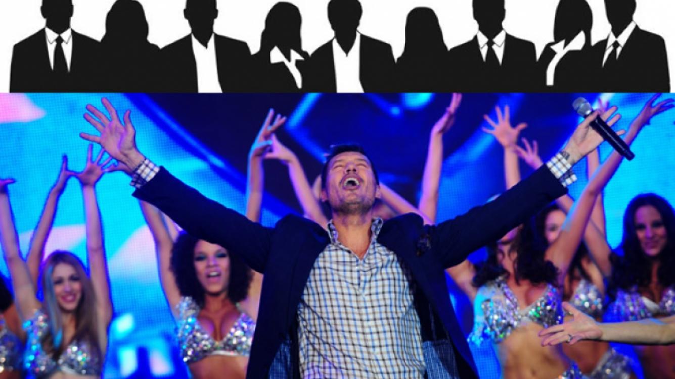 Entre otros, Tinelli quiere a Aníbal Pachano y Flavio Mendoza compitiendo en la pista. (Fotos: Web)