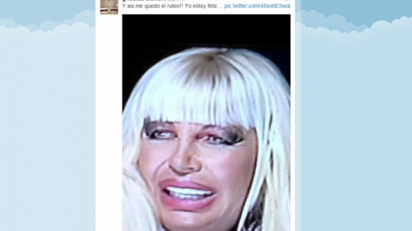 Griselda bromeó con su supuesto parecido a Leevon Kennedy (Foto: Twitter).