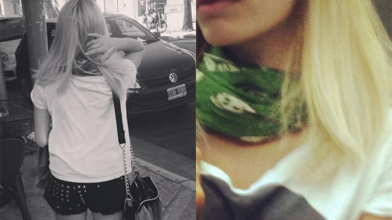El cambio de look de Lali Espósito (Fotos: Instagram).