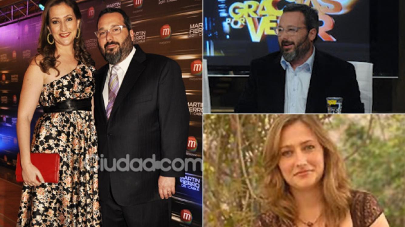 Gerardo Rozín y Carmela Bárbaro, separados. (Fotos: Ciudad.com, archivo Telefe y Web)